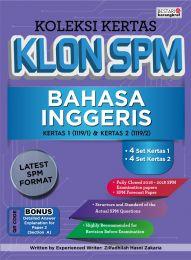 Koleksi Kertas Klon SPM Bahasa Inggeris