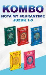 [KOMBO] Nota My #QuranTime Juzuk 1 - 5 + FREE BUKU TULIS MQT