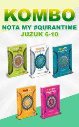 [KOMBO] Nota My #QuranTime Juzuk 6 - 10 + FREE BUKU TULIS MQT