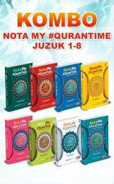 [KOMBO] Nota My #QuranTime Juzuk 1 - 8 + FREE T-SHIRT IQRA'
