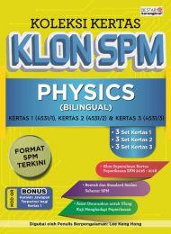 Koleksi Kertas Klon SPM Physics