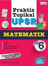 Praktis Topikal UPSR (2018) Tahun 6 - Matematik
