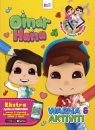 Omar & Hana: Warna & Aktiviti (Buku 3D AR)