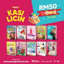 [JPG] Kasi Licin 10 Novel = RM50