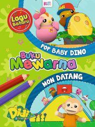 Buku Mewarna Didi & Friends: Pop Baby Dino & Mon Datang