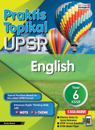 Praktis Topikal UPSR English Year 6 (New)