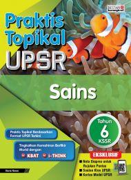 Praktis Topikal UPSR Sains Tahun 6 (2020)