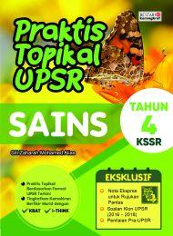 Praktis Topikal UPSR (New Cover) Sains Tahun 4