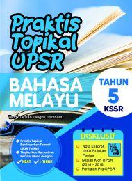 Praktis Topikal UPSR (New Cover) Bahasa Melayu Tahun 5