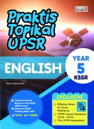 Praktis Topikal UPSR (New Cover) English Year 5