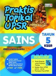 Praktis Topikal UPSR (New Cover) Sains Tahun 5