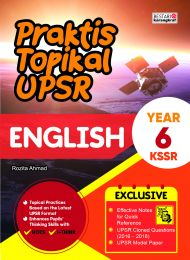Praktis Topikal UPSR (New Cover) English Year 6