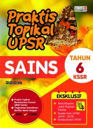 Praktis Topikal UPSR (New Cover) Sains Tahun 6