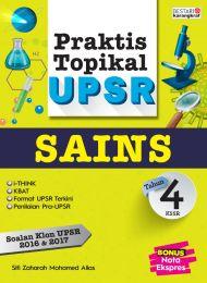 Praktis Topikal UPSR (2018) Tahun 4 - Sains