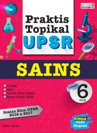 Praktis Topikal UPSR (2018) Tahun 6 - Sains