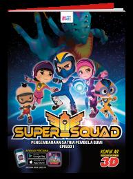 SuperSquad : Pengembaraan Satria Pembela Bumi (AR)