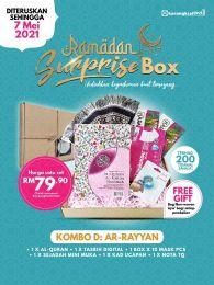 Kombo D : Ar-Rayyan - Ramadan Surprise Box + FREE GIFT (BEG IQRA)