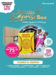 Kombo B : Medina  -Ramadan Surprise Box + FREE GIFT (BEG IQRA)