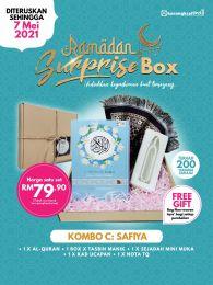 Kombo C : Safiya - Ramadan Surprise Box + FREE GIFT (BEG IQRA)