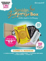Kombo A : Mubarak -Ramadan Surprise Box + FREE GIFT (BEG IQRA)