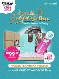Kombo F: Kautsar Premium - Ramadan Surprise Box + FREE GIFT (BEG IQRA)