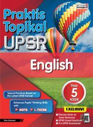 Praktis Topikal UPSR English Year 5 (2020)
