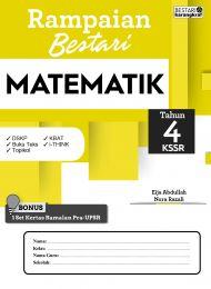 Rampaian Bestari Tahun 4 KSSR Matematik