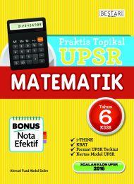 Praktis Topikal UPSR Matematik Tahun 6