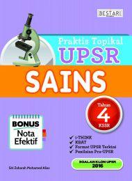 Praktis Topikal UPSR Sains Tahun 4