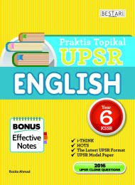 Praktis Topikal UPSR English Tahun 6