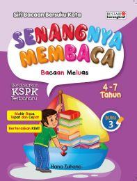 Senangnya Membaca Bacaan Meluas 4-7 Tahun Buku 3