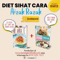 Pakej Diet Sihat Cara Aizat Razak