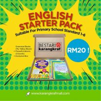 [Special Gift] English Starter Pack - Pack A (RM20)