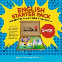 [Special Gift] English Starter Pack - Pack B (RM35)