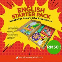[Special Gift] English Starter Pack - Pack C (RM50)