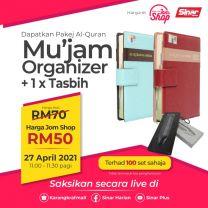 JOMSHOP - Al-Quran Mujam Organizer + Tasbih Biji