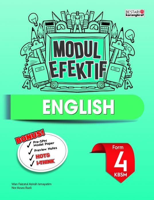 Modul Efektif English Tingkatan 4