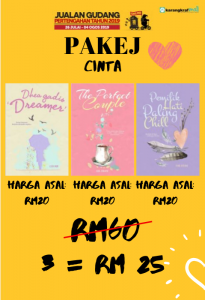 PAKEJ Dhea Gadis Dreamer + The Perfect Couple + Pemilik Hati Paling Chill