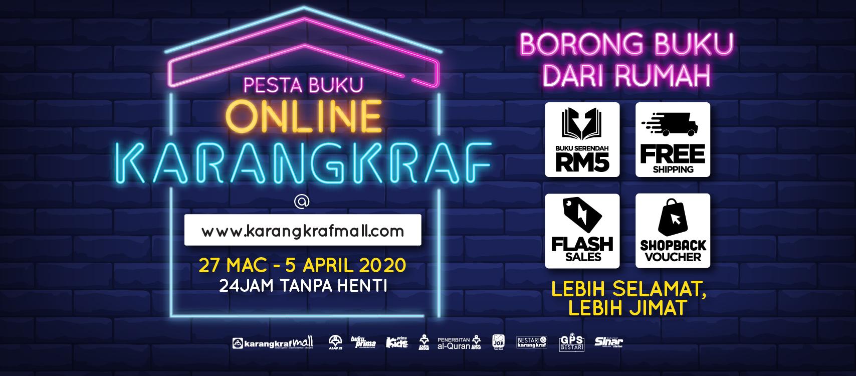 Karangkraf Mall Line Homepage